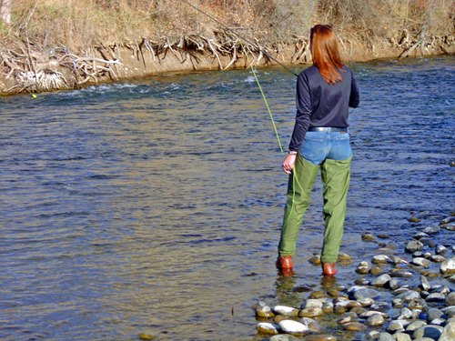 ~Flyfishing on the Boise River~
