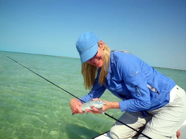 Post image for Fly Fishing for Bonefish is definitely not Trout Fishing…